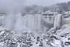 Niagara Fall in Winter (Artur Staszewski) Tags: winter white snow ontario canada cold fall weather fog canon frozen snowy january freezing sigma tourist tourists niagara falls most destination xs attraction visited 1770mm