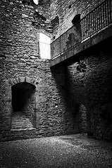 Lydford castle Devon (stephen thomas green1) Tags: blackandwhite bw castle prison devon stark dartmoor lydford lydfordcastle defensivetower stephenthomasgreen lydfordcastledevon