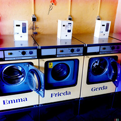 A Washing Machine Called Gerda (PaGn) Tags: backup germany emma machine washing halle frieda gerda 2012 iphone waschhaus hipstamatic waschhausdunte