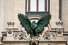 Eagle at the Door (Mike Franks) Tags: paris france architecture opera eagle doorway 70200mm palaisgarnier