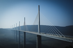 Millau Viaduct (GJvdH) Tags: canon viaduct 12 millau 50l 5d2