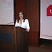 Lucila Pinto apresenta Evento da TNS Interscience