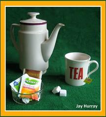 My cup of tea (Jay Hurray) Tags: photography ode tea kettle mug teapot tribute takingpictures takingphotos drinkingtea makingpictures makingphotos littlebagsoftea