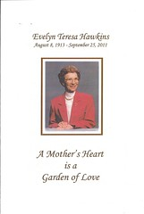 Evelyn Hawkins Funeral Program 01