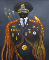 Secretary (Deyan Yanev) Tags: art sofia police canvas bulgaria oil secretary deyan yanev