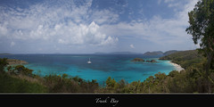 "Trunk Bay Beach Panorama (Joalhi ""Back in Miami"") Tags: panorama beach stjohn trunkbay virginislandsnationalpark coth5"