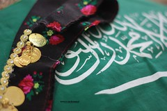 (munira mohammed |  ) Tags: old heritage flag cloth saudiarabia customs ksa