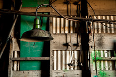 lamp and green (Sam Scholes) Tags: old light building green abandoned lamp digital utah nikon mine industrial decay dirty mining warehouse coal hiawatha d300 kingcoal kingmine usfco unitedstatesfuelcompany