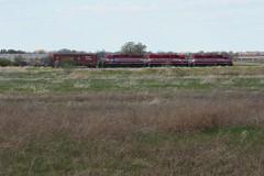 Ten Minutes (Wide Cab) Tags: field grass prairie bemis wsor wisconsinsouthern oshkoshwi l595 oshkoshsub oshkoshjob