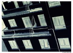 A light from within / Una luz desde adentro (Claudio.Ar) Tags: city windows argentina night buildings topf50 buenosaires sony ciudad dsc sincity urbex h9 claudioar claudiomufarrege