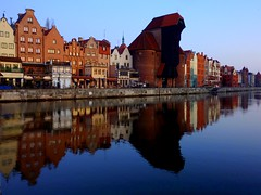The medieval Krantor (Crane Gate) on the river Mottlau, Gdansk (Frans.Sellies (off for a while)) Tags: geotagged poland polska polen kran gdansk danzig polonia pologne  polsko uraw  poljska polonya   krantor  anpholainn    bramauraw p1440136 kranichtor geo:lat=5434934891266728 geo:lon=1865713120166629