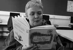 "Jane reading me Tim The Terrible Tiger • <a style=""font-size:0.8em;"" href=""http://www.flickr.com/photos/81015582@N06/7430760980/"" target=""_blank"">View on Flickr</a>"