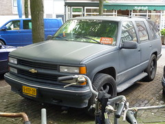 1996 Chervrolet 1500 Tahoe 4WD (Vinylone AFS-UTS) Tags: 1996 tahoe 4wd 1500 chervrolet