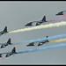 Belgian Alpha Jet Flypast