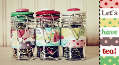 Let's Have Tea (ittybittybirdy) Tags: tea gift packaging teaparty canisters digitalscrapbooking chelseaann