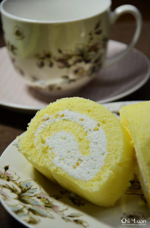 [公益-試食]喜憨兒蜂蜜香柚捲。清新夏日,冰涼甜味
