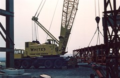 Whites Coles Valliant (71B / 70F ( Ex Jibup )) Tags: mobile big lift crane head duty boom cranes block chassis hook derrick root heavy jib strut sections slew ballast lifting hoist telescopic capacity counterweight outriggers