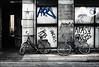 Bikes and Graffiti (sk31k) Tags: copenhagen denmark 50mm graffiti bicycles leicam8