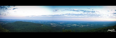 The other side [Panorama] (AHMAD AL-ABDAN |  ) Tags: mountain me america canon landscape eos al flickr mt ar taken follow arabia arkansas ahmad scape ahmed rt dover edit nasser 2012 d500 russellville nebo  500d  abdan               amendo alabdan
