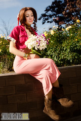 Aerith Gainsborough (Final Fantasy VII) - 2011 AnimeUSA (TheBigTog) Tags: costumes usa anime arlington costume unitedstates cosplay manga va cosplayer cosplayers finalfantasyvii animeusa 2011 adventchildren ausa aerithgainsborough
