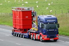 Scania R620 SL11 EAJ (gylesnikki) Tags: blue truck artic annandale