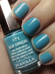 blue curaçao, mavala (nails@mands) Tags: nagellack polish nailpolish vernis esmalte smalto lakka bluecuraçao verniz mavala
