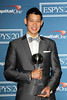Jeremy Lin 2012 ESPY Awards - Press Room at the Nokia Theatre L.A. Live Los Angeles, California