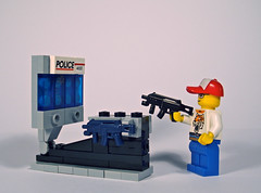 Shooter game (Nick Brick) Tags: game lego arcade shooter xmp brickarms