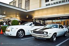 Two Of my Favorites (texan photography) Tags: 1969 nikon texas houston camaro chevy rolls phantom royce z28 drophead lightroom3 d3100