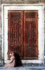 (|hala photography|) Tags: door old brown canon turkey kneel grey worship pray istanbul mosque مسجد باب صلاة قديم اسطنبول تركيا 400d بني رمادي سجود عبادة