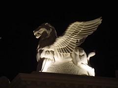 Winged Lion (viktrav) Tags: lasvegas caesarspalace wingedlion