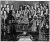 0126535 (Granger Historical Picture Archive) Tags: family boy portrait woman man france girl fashion court french king princess maria interior group daughter son prince queen theresa engraving late gown royalty louisxiv illegitimate aristocracy nobility 1698 carouselcollection