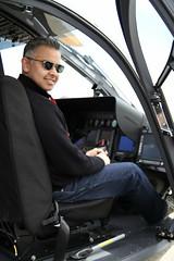 Amjad is a chopper pilot