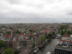 Amsterdam on a cloudy, rainy day (Skellig2008) Tags: netherlands amsterdam prinsengrachtcanal