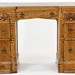 139. Pedestal Desk with Carved Details