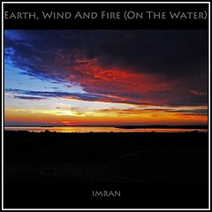 Earth, Wind & Fire (On The Water) - IMRAN™ -- 10,500+ Views! (ImranAnwar) Tags: 2012 beach beautiful boating clouds dusk framed greatsouthbay history imran imrananwar iphone lifestyle longisland lust marine nature newyork night ocean orange outdoors red seasons sky square suffolk sun sunset water winter yellow