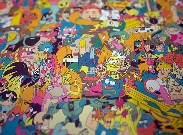 卡通頻道20週年紀念海報