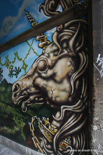 Unicorn - Graffiti by Feek & Paris
