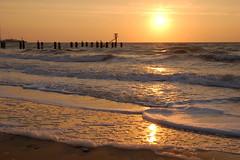 Lowestoft early morning sea (Kirkleyjohn) Tags: morning seascape beach sunrise coast seaside waves earlymorning sands lowestoft suffolkcoast