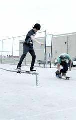 filming, (nvyelyx) Tags: park rail skate trick skateboards filming