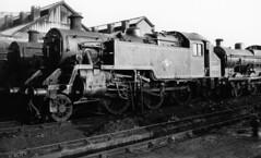 BRITISH RAIL    82027 (JOHN MORGANs OLD PHOTOS.) Tags: nine rail british 1960s elms 82027