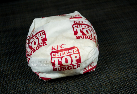 The KFC Streetwise Cheese Top Burger - ridiculous, but effective marketing