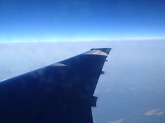 Cloudy views at 35000 ft Photo