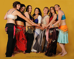 Dance Life Studio Instructors - Group Shot (Drumdude Bill) Tags: beautiful jen alice christina lisa kathy bellydance tori arielle madisonwisconsin nikond700 nikkor2470mmf28ged doumtekphotography dancelifestudio