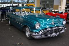 1956 Oldsmobile Super 88 (Michelle ~ Blacky ~ Champaz's Captures....) Tags: 1956 carshow 56 hotrods olds oldsmobile customs leadsleds sandownraceway 56olds worldcars 1956oldsmobilesuper88 kustomsofaustralia johnsrodcustompicnic