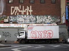 Cash4 Noxer Nose Rambo (carnagenyc) Tags: nyc newyork truck nose graffiti rambo nasty ykk goog noxer cash4