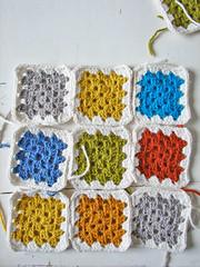 10 (tantecupcake) Tags: squares crochet granny wol haken lappendeken vierkantjes lapjes