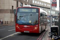 19 March Morden (1) (togetherthroughlife) Tags: bus march surrey 708 morden metrobus 2014 293 yx58dxd