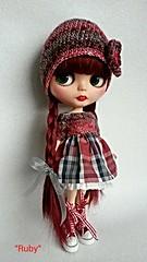 Ruby la mar de guapa con su conjunto nuevo...