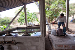 A Mescal Still _1853 (hkoons) Tags: city mexico countryside town still drink farm country farming spirits soil dirt liquor oaxaca farms produce agave agriculture furrows moonshine mezcal furrow stateofoaxaca fabricademezcal